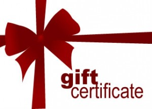 Medieval Course Gift Certificates