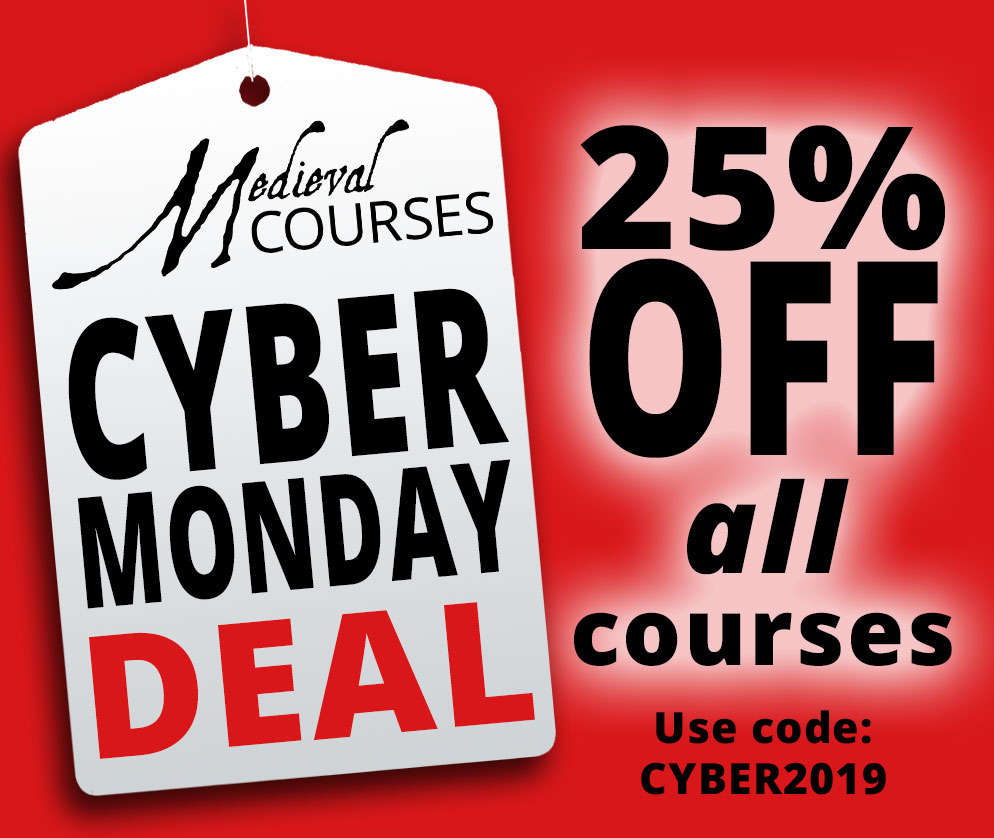 Cyber Monday Deal 25% off all our courses!